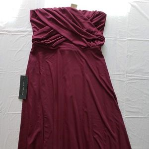 Discontinued Ann Taylor Strapless Bridesmaid Dress